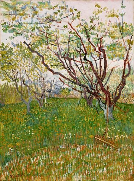 Картина Квітучий сад, Вінсент ван Гог