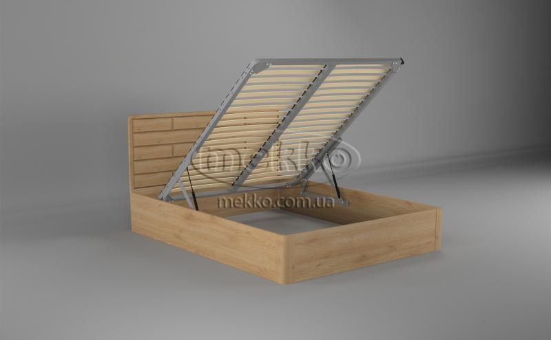 Ліжко Лауро з Підйомником (масив бука /масив дуба) T.Q.Project-2