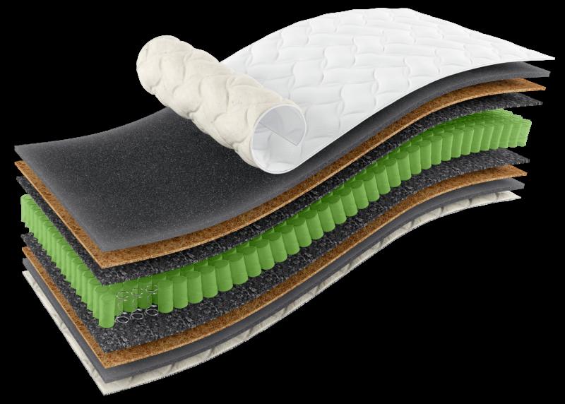 Ортопедичний матрац Omega Sleep&Fly Organic поспішайте купити за халявною, зниженою ціною на 20%.