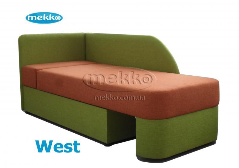 Ортопедичний диван West (Вест) (1600х820) ф-ка Мекко-9