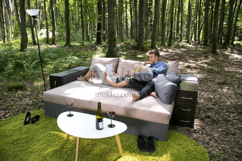 Ортопедичний диван President (Президент) (2650x1155) фабрика Мекко-9