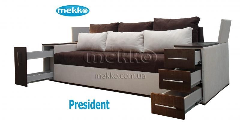 Ортопедичний диван President (Президент) (2650x1155) фабрика Мекко-21