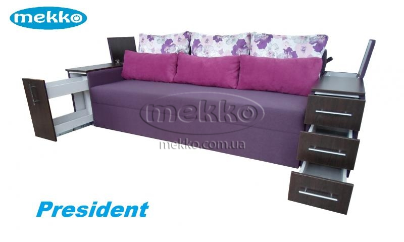 Ортопедичний диван President (Президент) (2650x1155) фабрика Мекко-23