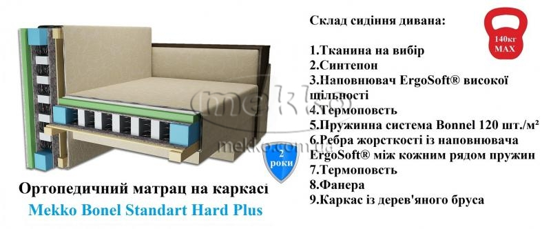 Ортопедичний кутовий диван Senator (Сенатор) (2500×1500) фабрика Mekko-19