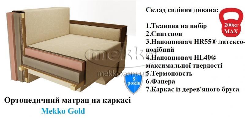 Ортопедичний кутовий диван Senator (Сенатор) (2500×1500) фабрика Mekko-22
