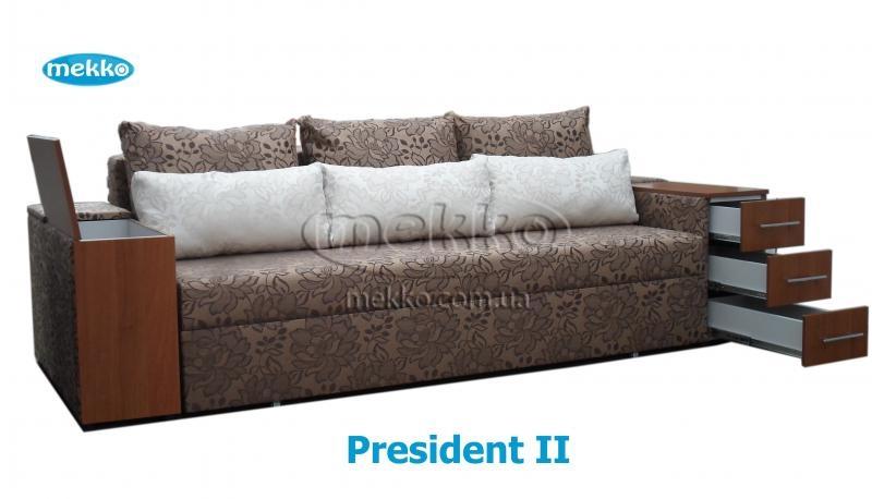 ортопедический диван President Ii 2650x1155 мм фабрика Mekko